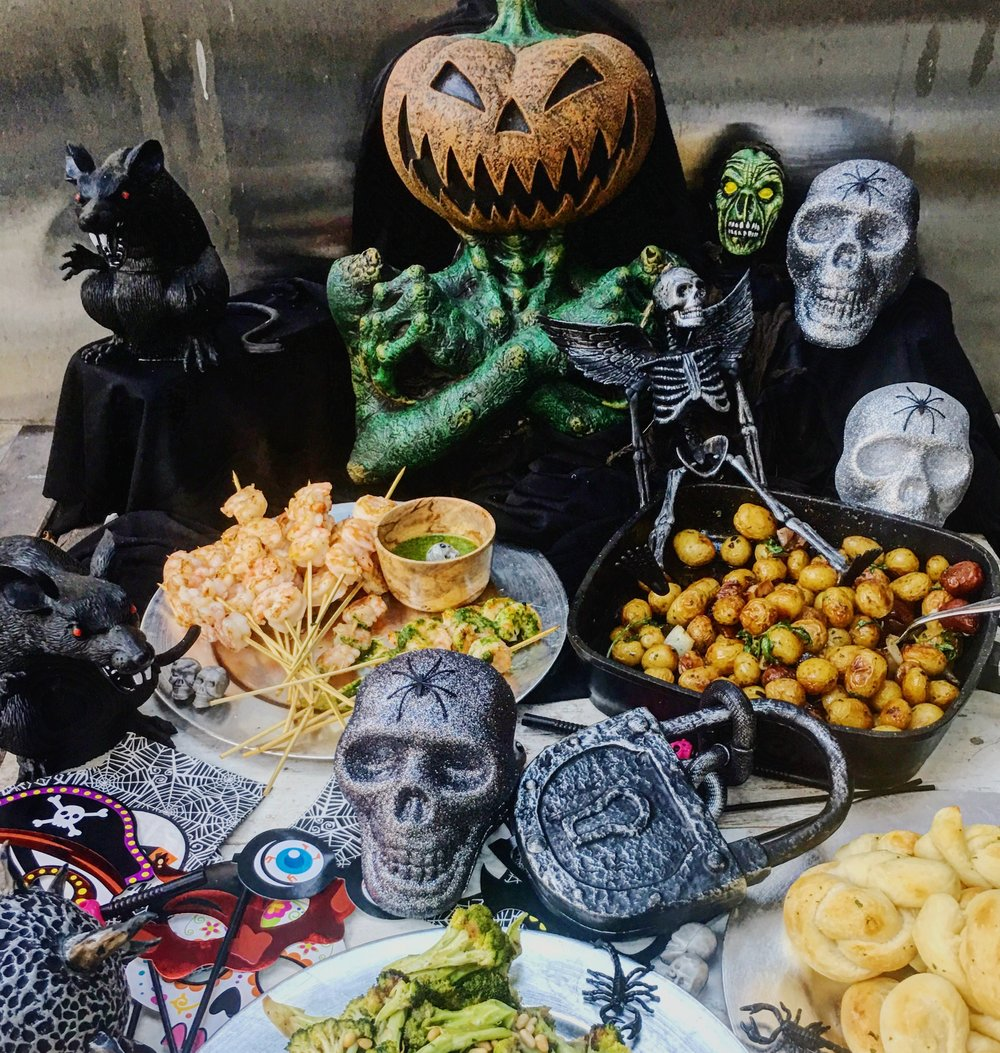 Don't just get by with old Halloween decorations. Raise your game.
