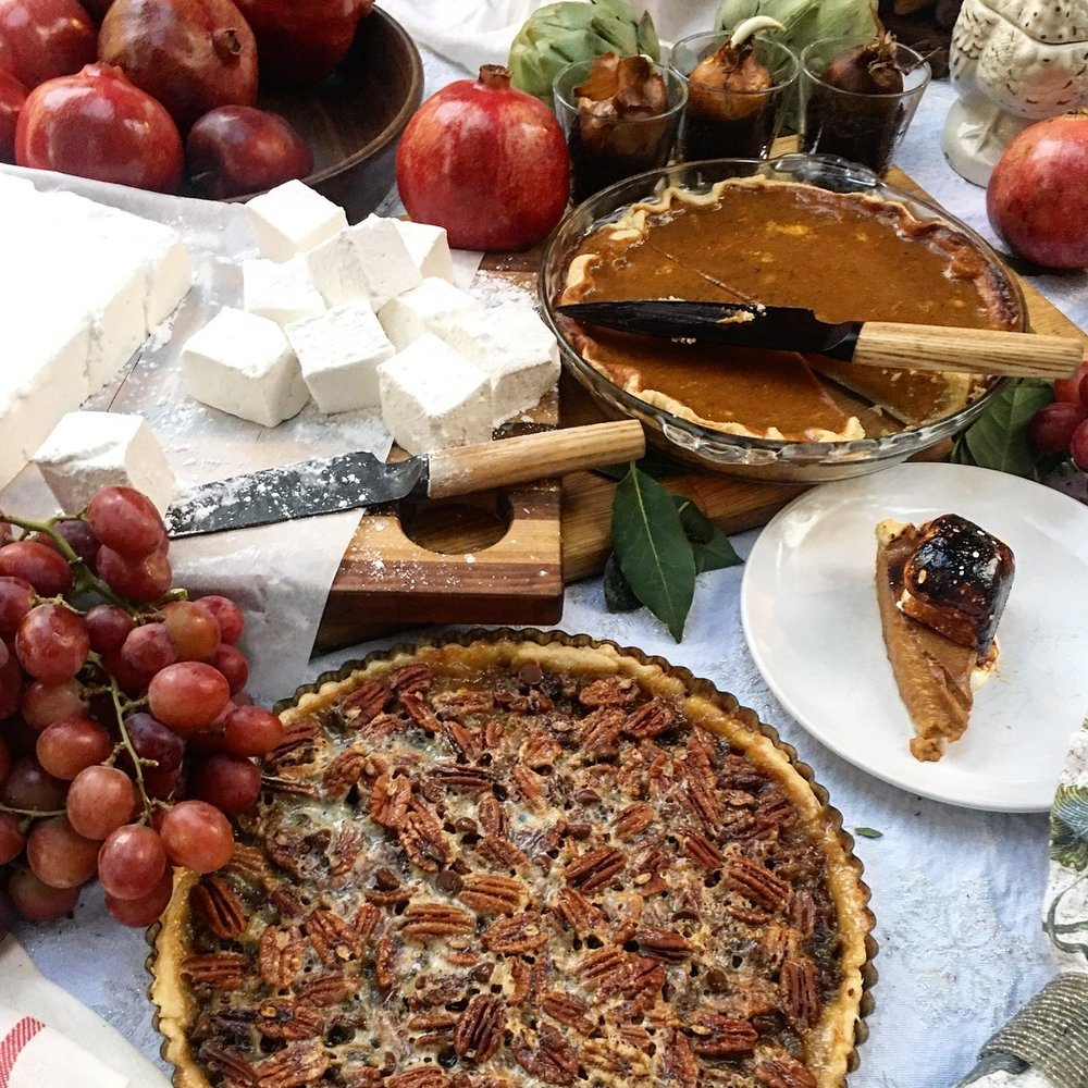 Mmmmm. Pie. David Mamet once said there can be no stress where there is pie. Yep.