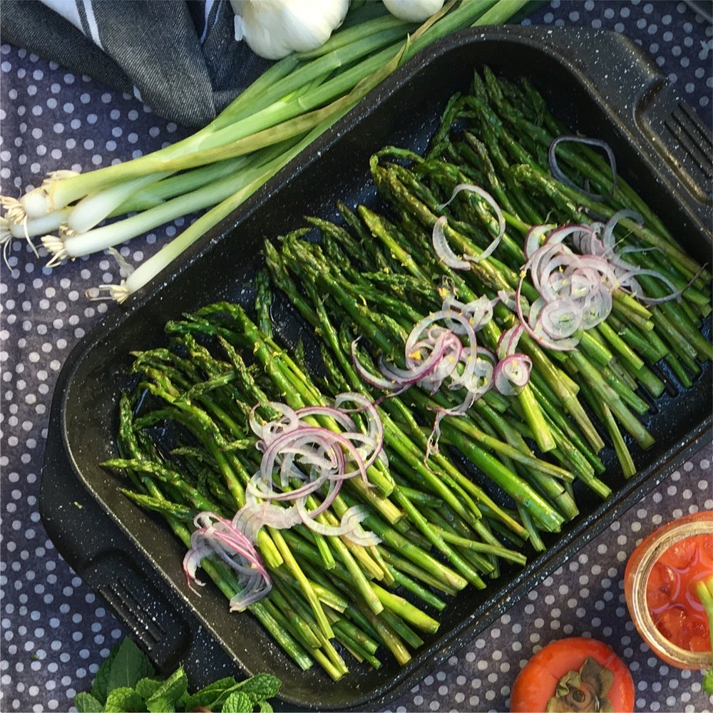 Vegetables are good. This asparagus, with a little attention to preparation, is amazing.