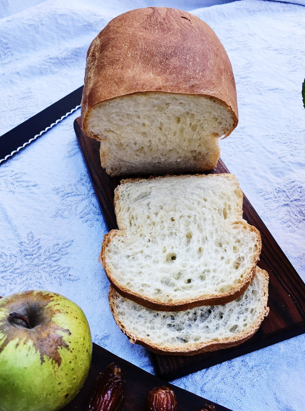 Freshly baked bread, or a best loaf from your favorite baker, is a beautiful way to sop up the remains of your chicken pie. Bread and pie crust in one meal? Oh, yes.