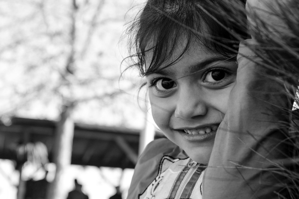 A young girl from the Mediterranean.