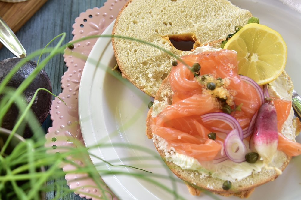 This bagel with home-brined salmon? How to win brunch.