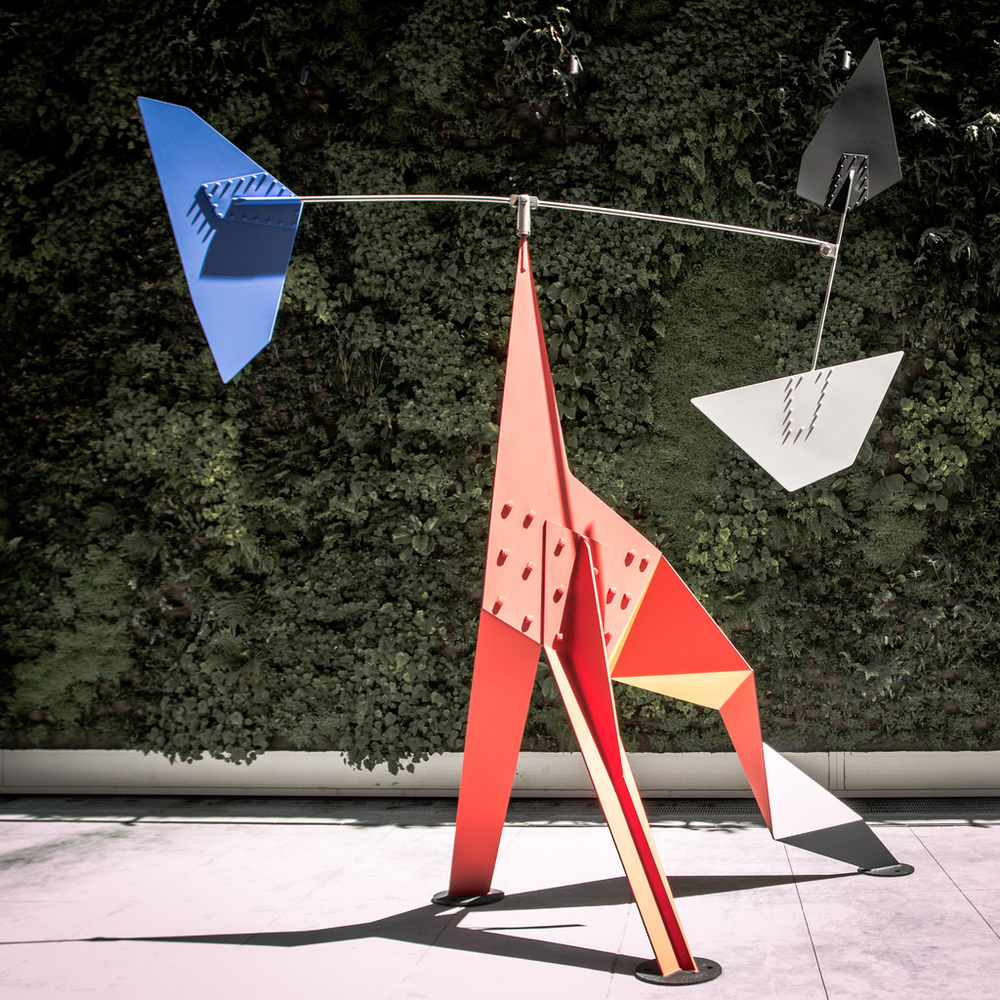 """Sometimes, flavor balancing is art.  Photograph Courtesy Sharon Mollerus. """"Big Crinkly, 1969"""", by Alexander Calder. Photo taken May 1, 2016. Protected by Creative Commons Attribution 2.0 Generic."""