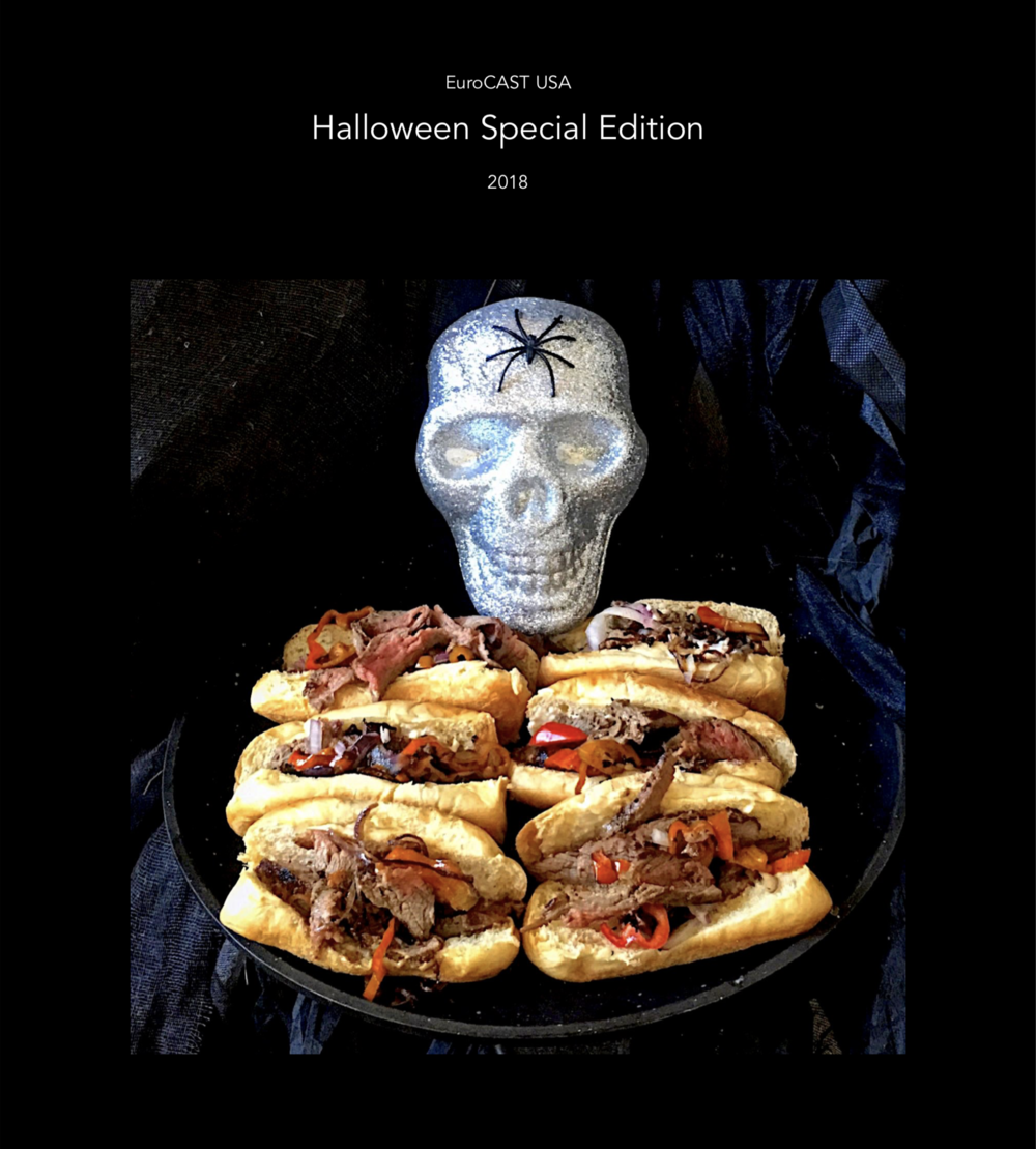 Stay tuned for a FREE copy of our Halloween recipe cookbook … tons of great ideas for entertaining, recipes for all occasions, and a major promotion code on the final page. Coming this week!