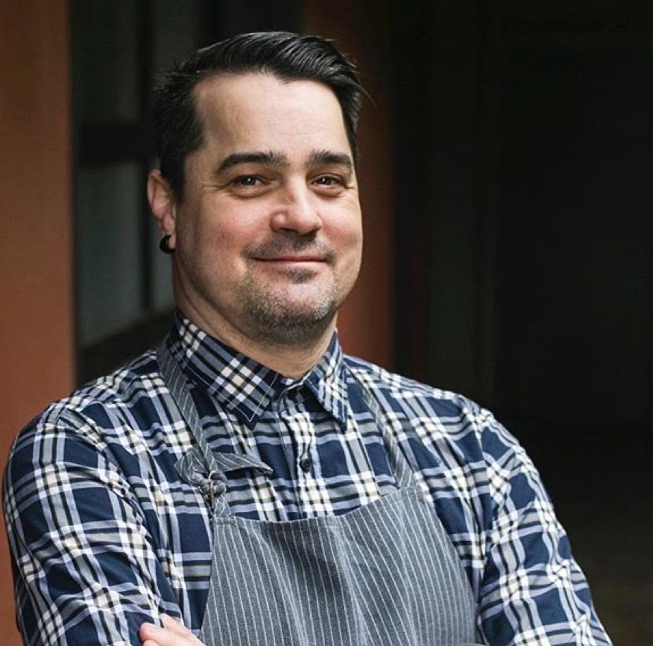 Chef Patrick McKee of Portland. Visit him at Estes, hosted by the elegant Dame restaurant pop-up space.