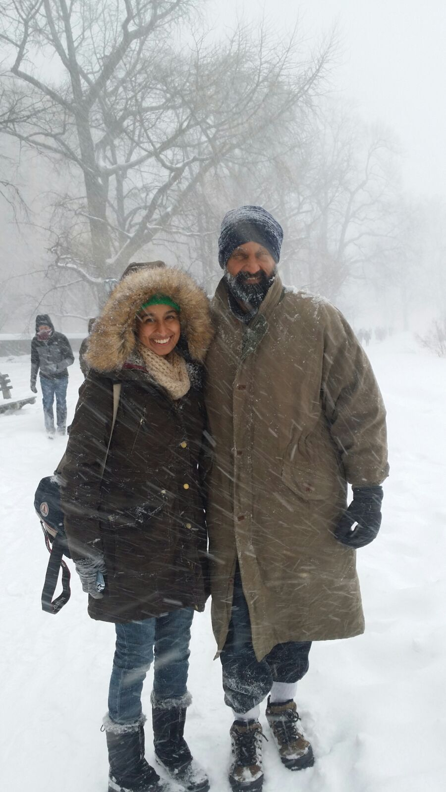 Central Park, New York. January 23, 2016