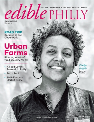 Charlyn Makes the Headlines! - Charlyn Griffith was featured on the front cover of Edible Philly magazine, for her incredible work in urban agroecology at Farm for the City.