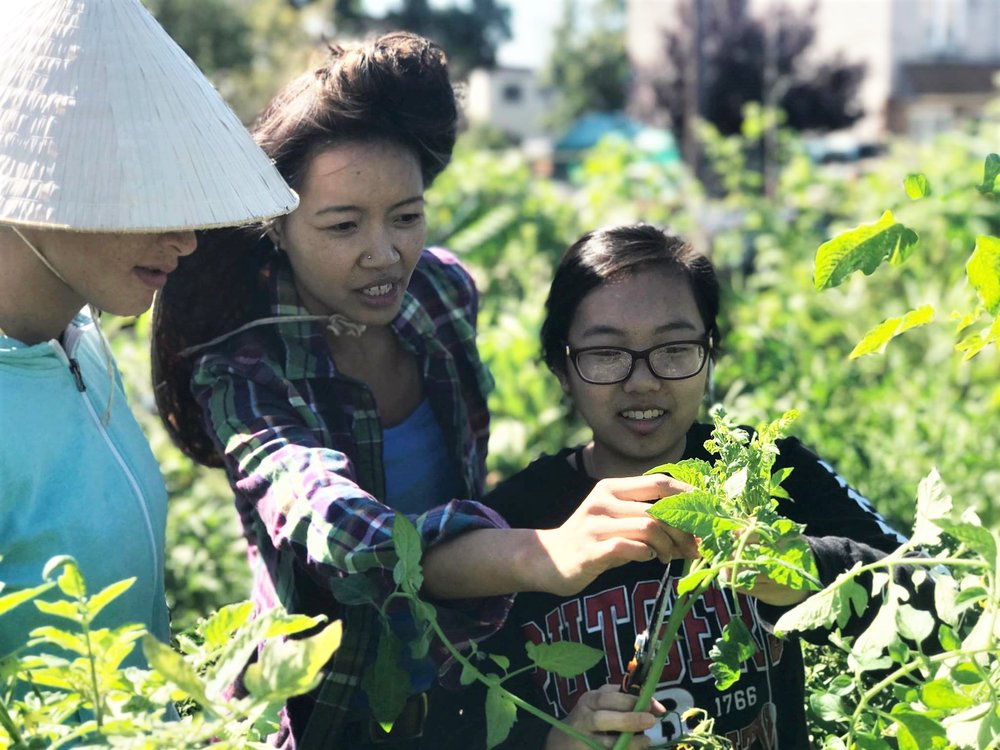 Vietlead & Resilient Roots Farm - Lan Dinh supported youth at VietLead in their movement to end the 10-year tax abatement!