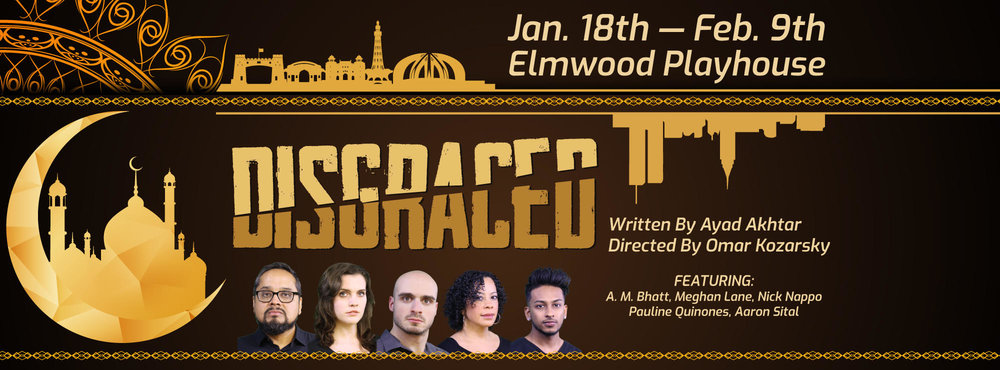 "Starring as Emily in Elmwood Playhouse's production of ""Disgraced"""