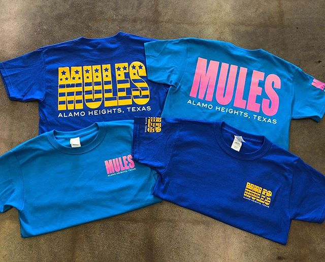 We are ready for summer! All new Mules shirts are here, stop in and check them out. Don't forget about our sale too, 40% off select styles!