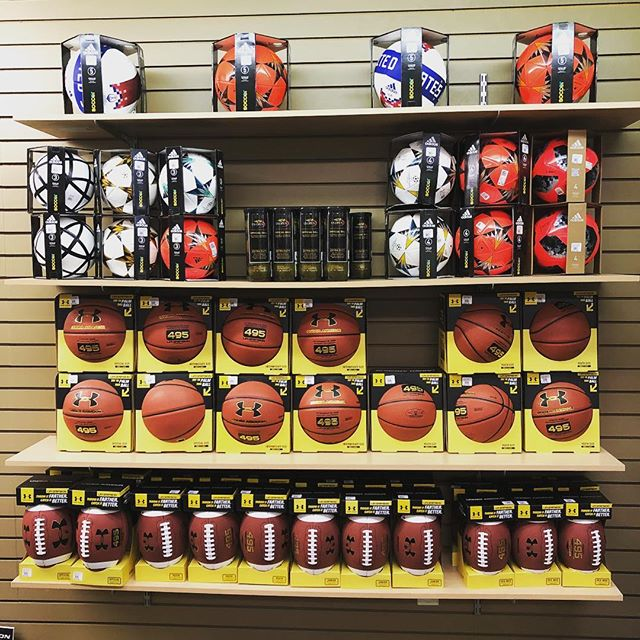 Need a ball for your Summer camp?? Or  to entertain your kids with? Stop in and check out our new ball wall, everything you need to get active this summer.