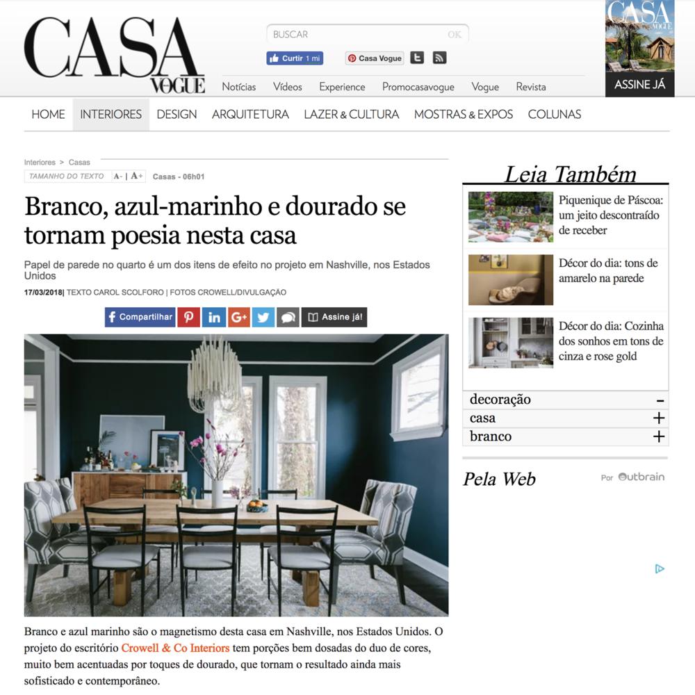 CASA VOGUE  March 2018