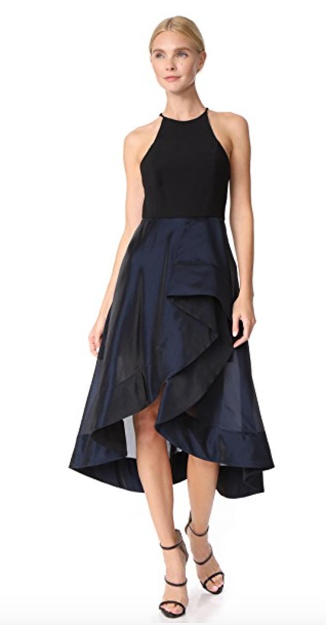 Dress by: Halston Heritage