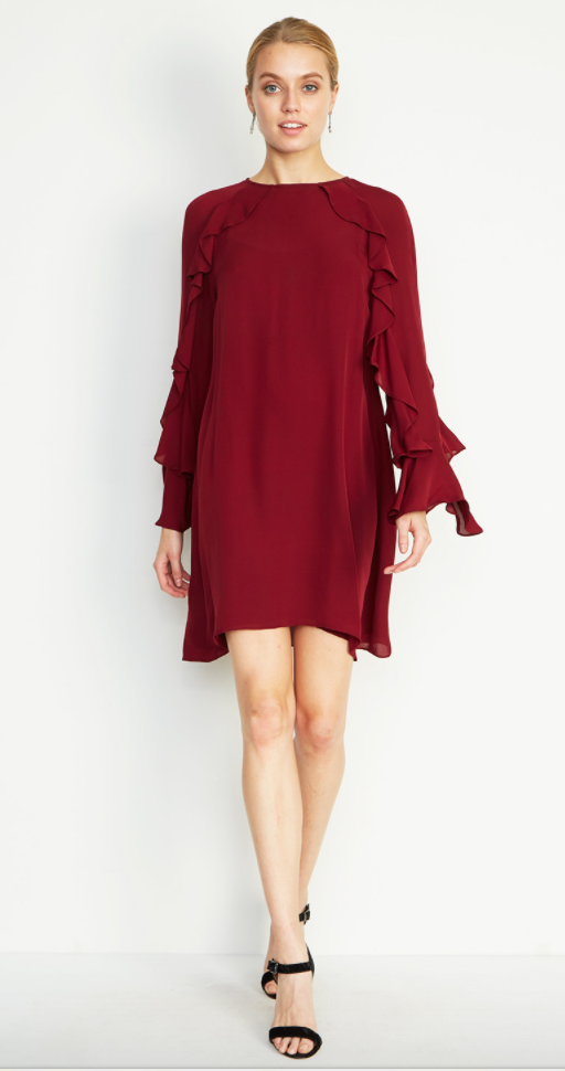 Dress by: Nicole Miller