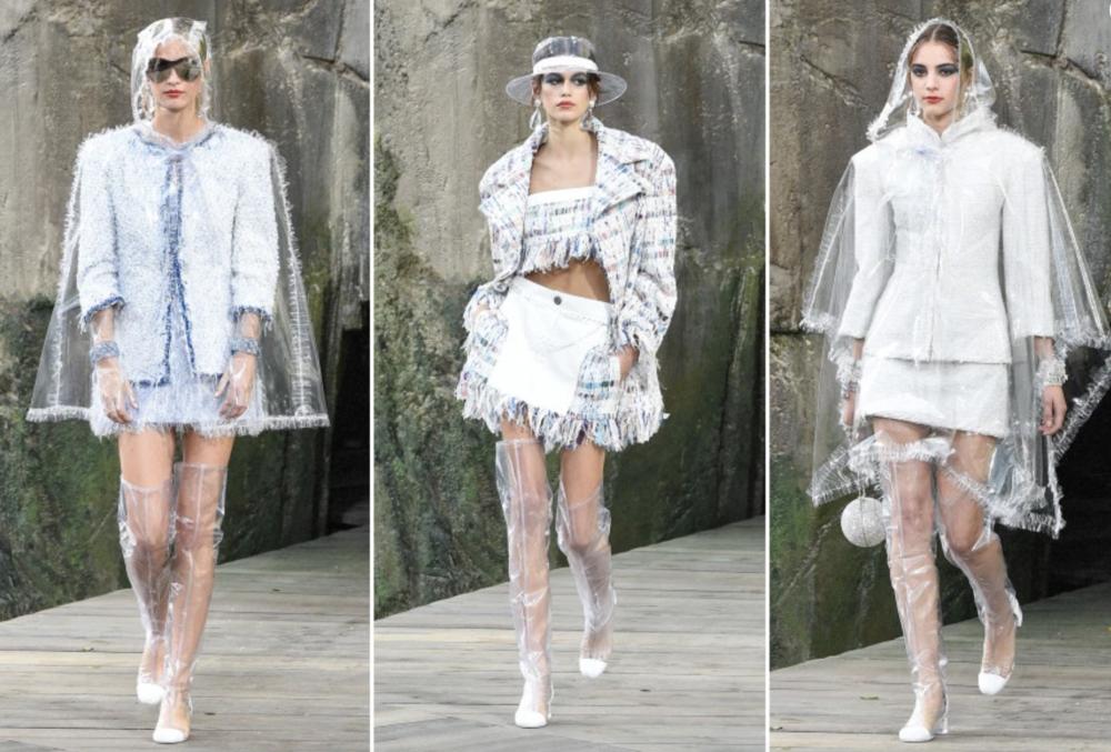 Chanel Spring 2018 via New York Post