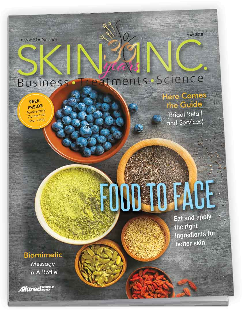 Skin Inc.  Magazine - Skin Inc. magazine is the leading industry publication for day spa, medical spa and wellness professionals, providing timely information such as:Spa business solutionsSkin scienceSpa treatment trendsAnd much more