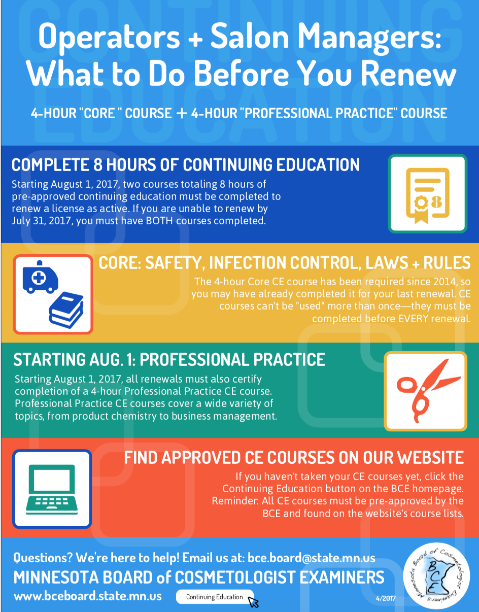 288013cfdac Beauty Certified Education Association Offers The Courses You Need to Renew!
