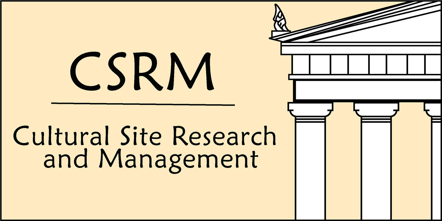 Cultural Site Research and  Management