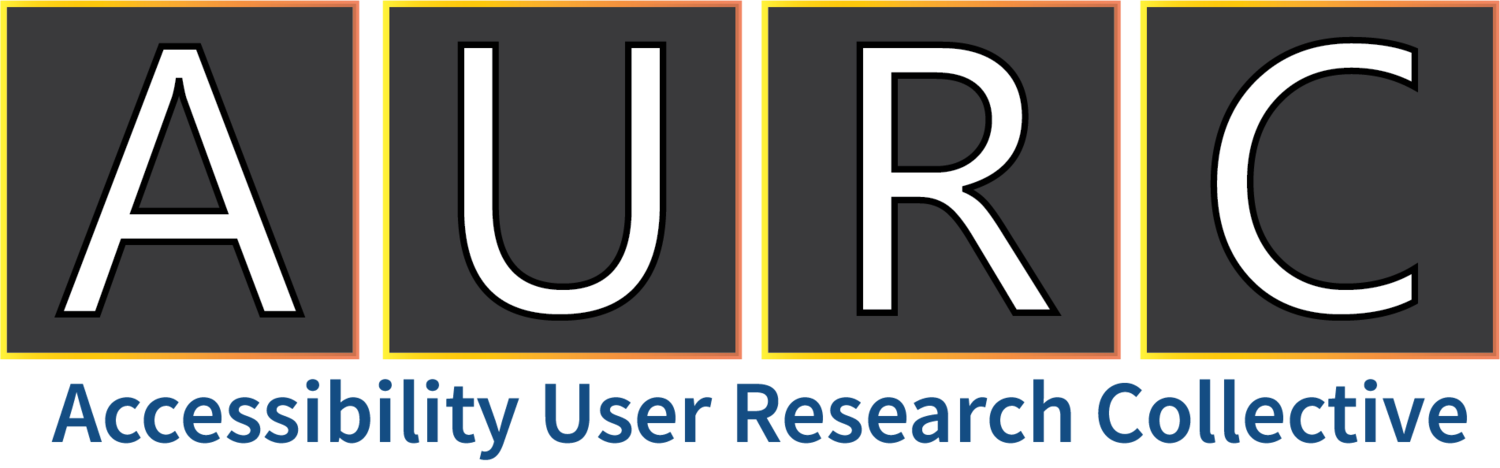 Accessibility User Research Collective