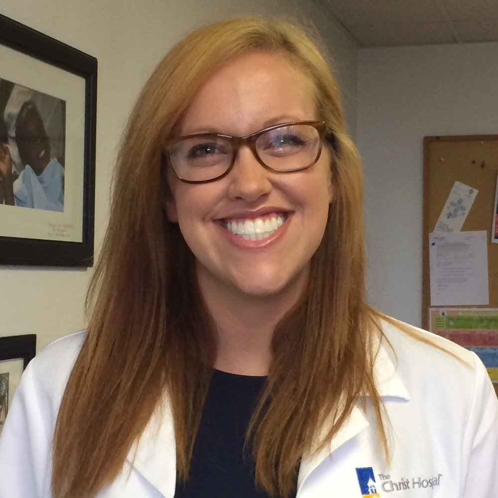 Anne Adams - University of Cincinnati  Class of 2017  Annie is still nearby and working for the city of Cincinnati at the Price Hill Clinic.