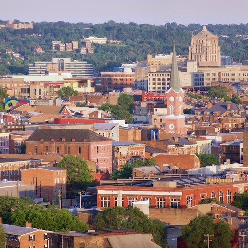 Cincinnati's Over-the-Rhine neighborhood where some of our long term continuity sites are located
