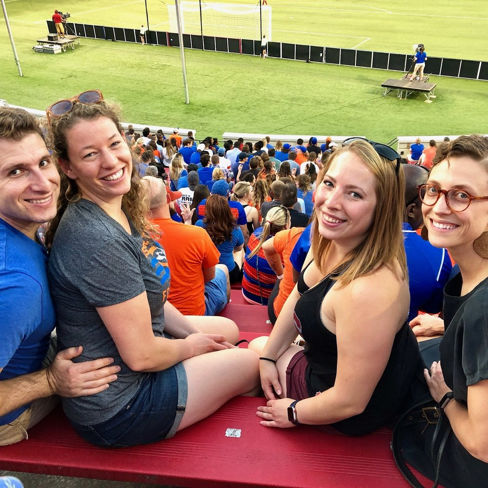 Seeing FC Cincinnati, the local major league soccer team is always fun!