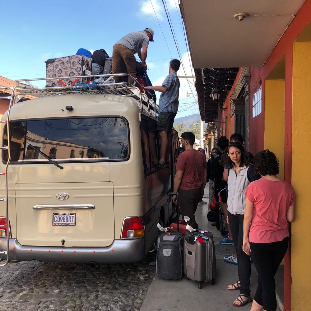 Places like Chichimuch, Chutiestantia, and Santiago were reached only after a long bus ride, and we set up day long clinics treating many of the same things as we did our first week.
