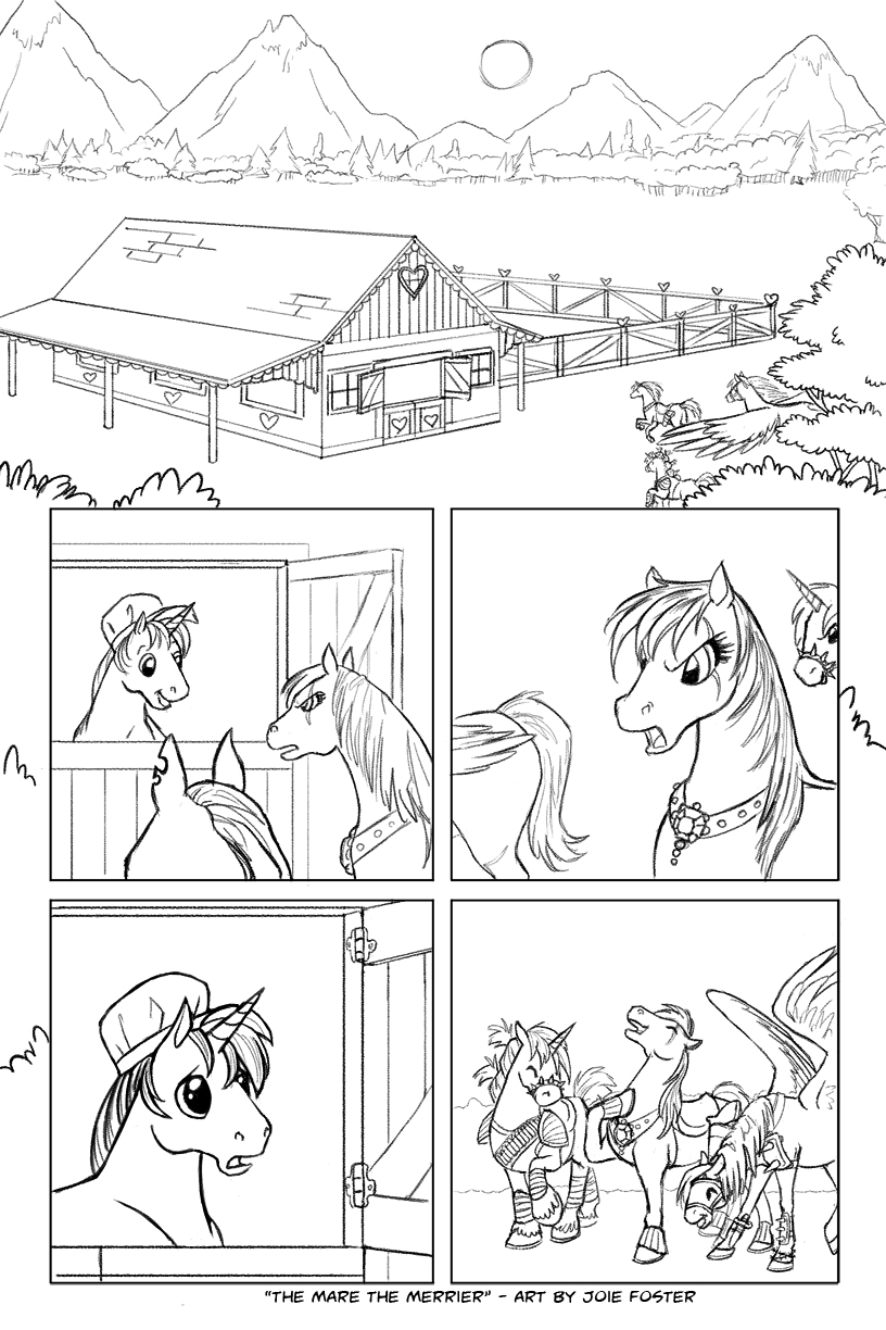 The Mare the Merrier