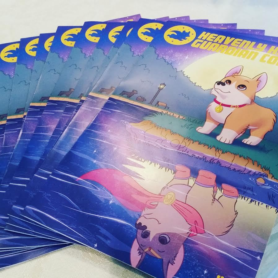 These vibrant beauties will debut at WonderCon 2017 in Anaheim, CA March 31-April 2 at table B-35!  Following previous tradition, the first 50 copies will be signed and numbered! For those of you who can't make it to Anaheim, there will be online options for ordering it.   Check out more info on the comic here!