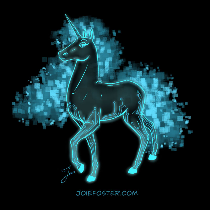 "While not existing in a traditional way, the quantum nature of the Rezzicorn has been the subject of intense debate amongst horse-loving nerds. The magic of manipulating qubits allows it to crunch datasets that are staggering to behold. Considered the most powerful ""computer"" in the world, it's a pretty cushy superposition to be in."