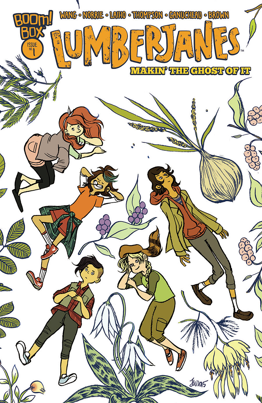 Lumberjanes: Makin' the Ghost of It