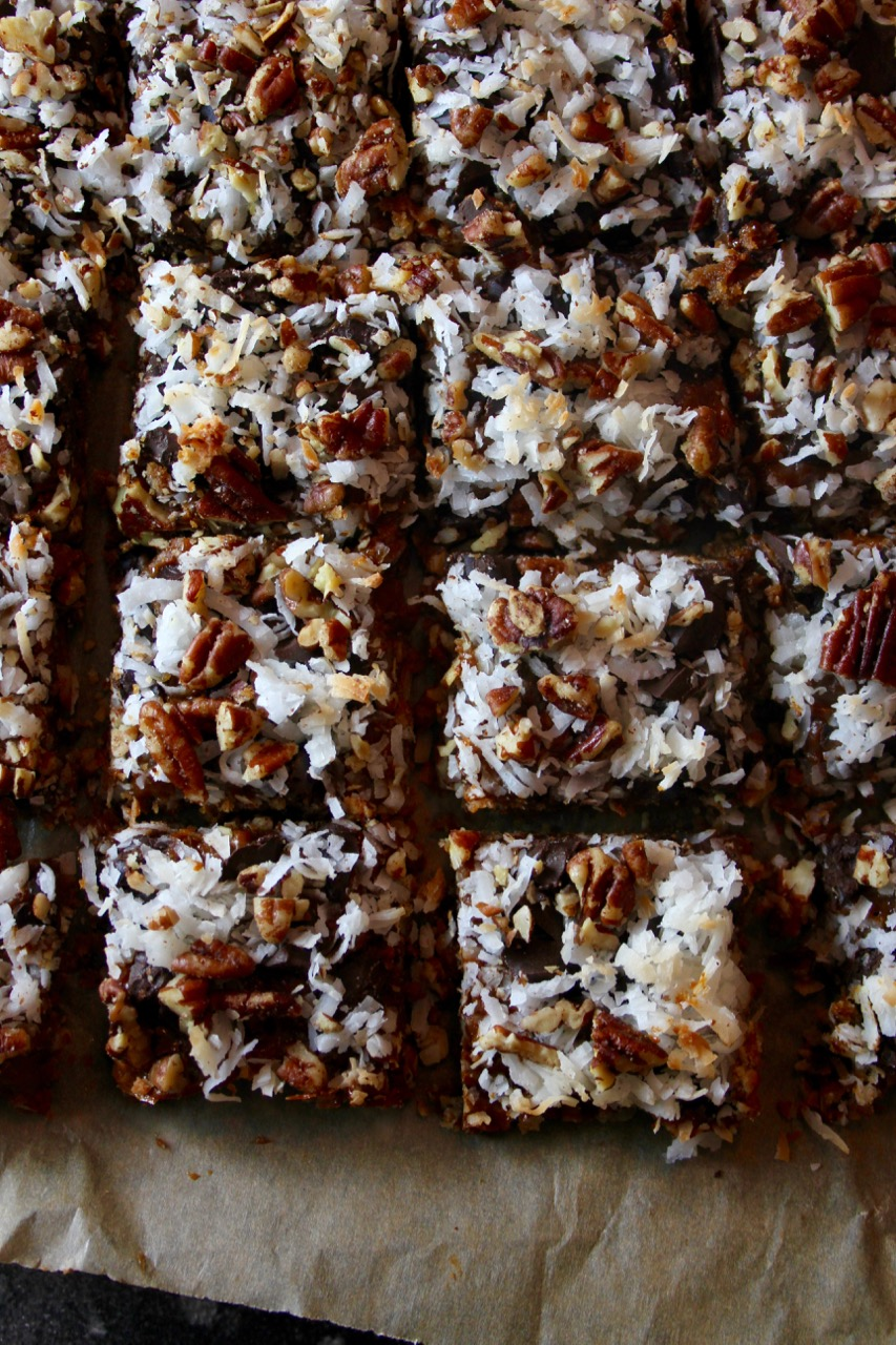 Dulce de Leche Magic Cookie Bars