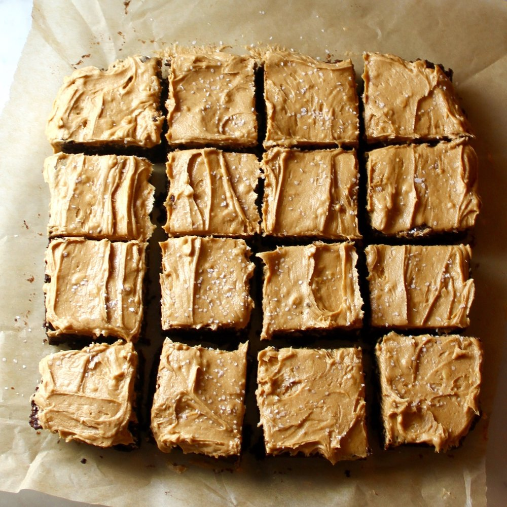 Peanut Butter Dulce de Leche Brownies