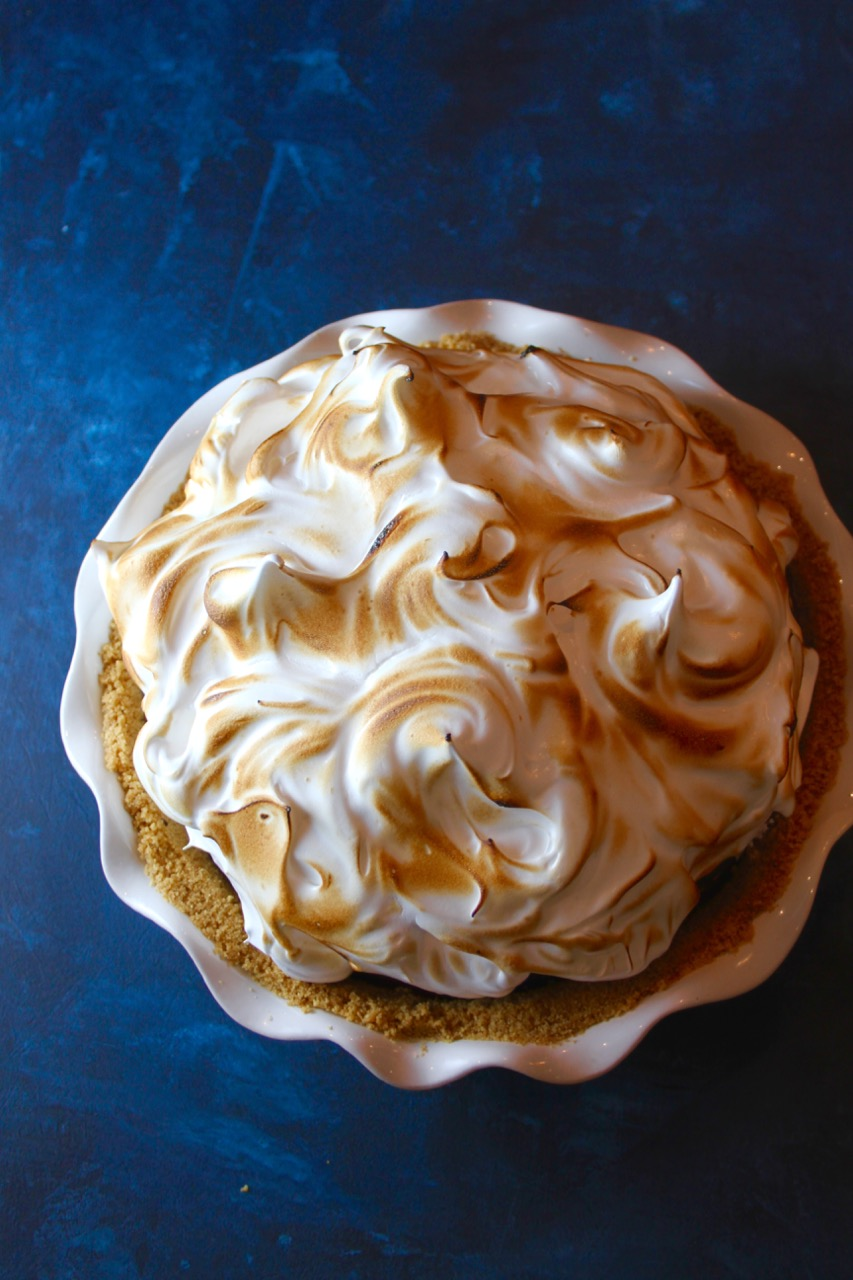 S'more Meringue Pie