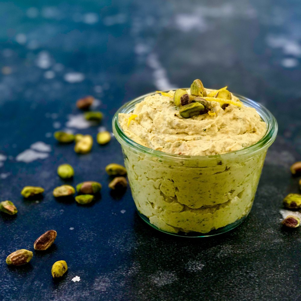 Pistachio, Feta and Lemon Dip