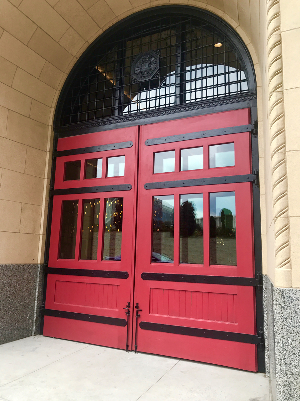 A Once Fire Station has been transformed into the Foundation Hotel
