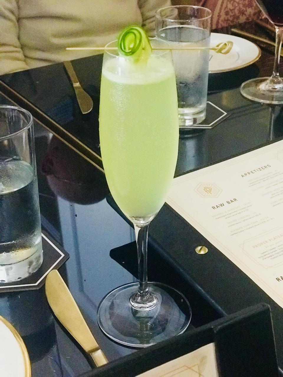 Cocktails as art at Prime + Proper