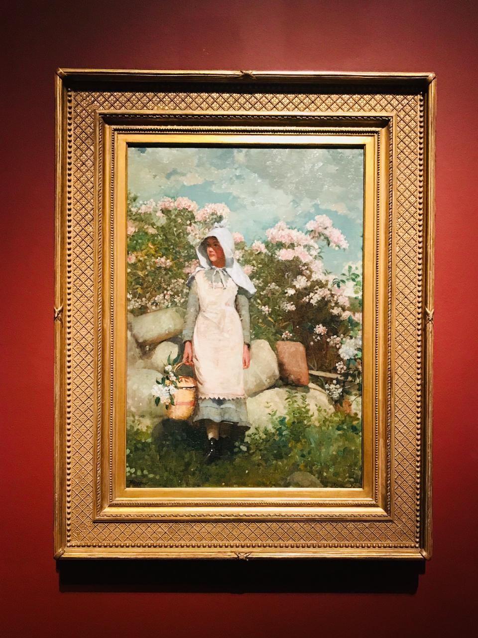 Winslow Homer's Girl and Laurel