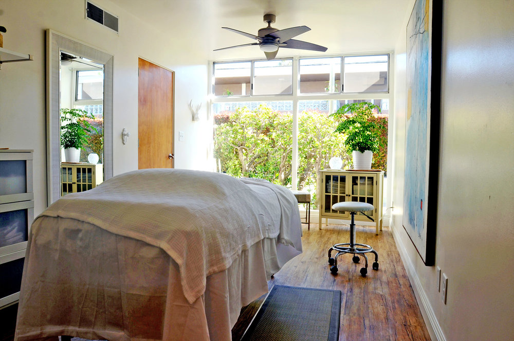 You will ease comfortably into my massage room filled with calming music and natural light.