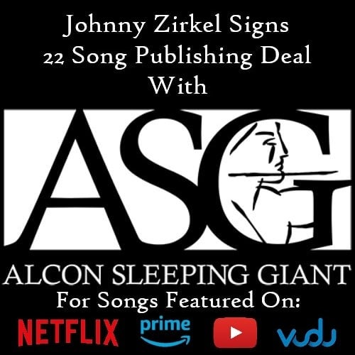 So excited to have have Alcon Sleeping Giant representing a catalog of 22 songs I have written over the years! Get ready to hear my music in even more of your favorite movies and shows! **** #alconsleepinggiant #alcon #sleepinggiant #musicpublishing #publishingdeal #musiclicensing #publishing #licensing #film #tv #capitolrecords #johnnyzirkel #alternative #alternativerock #poppunk #emo