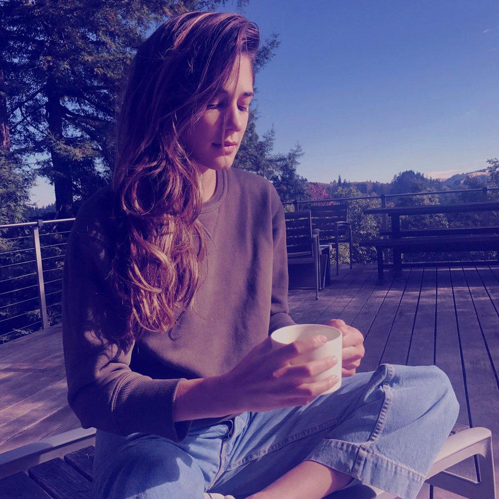 ally walsh of canyon coffee - my ritual