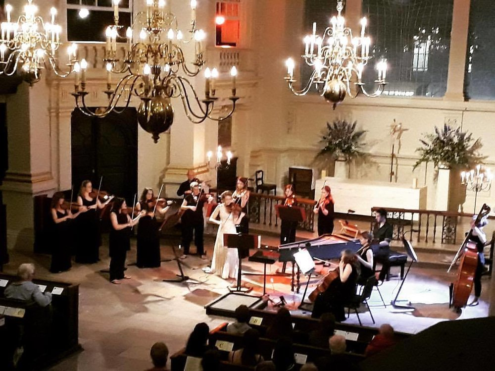 Vivaldi in St. Martin in the Fields - Directing the