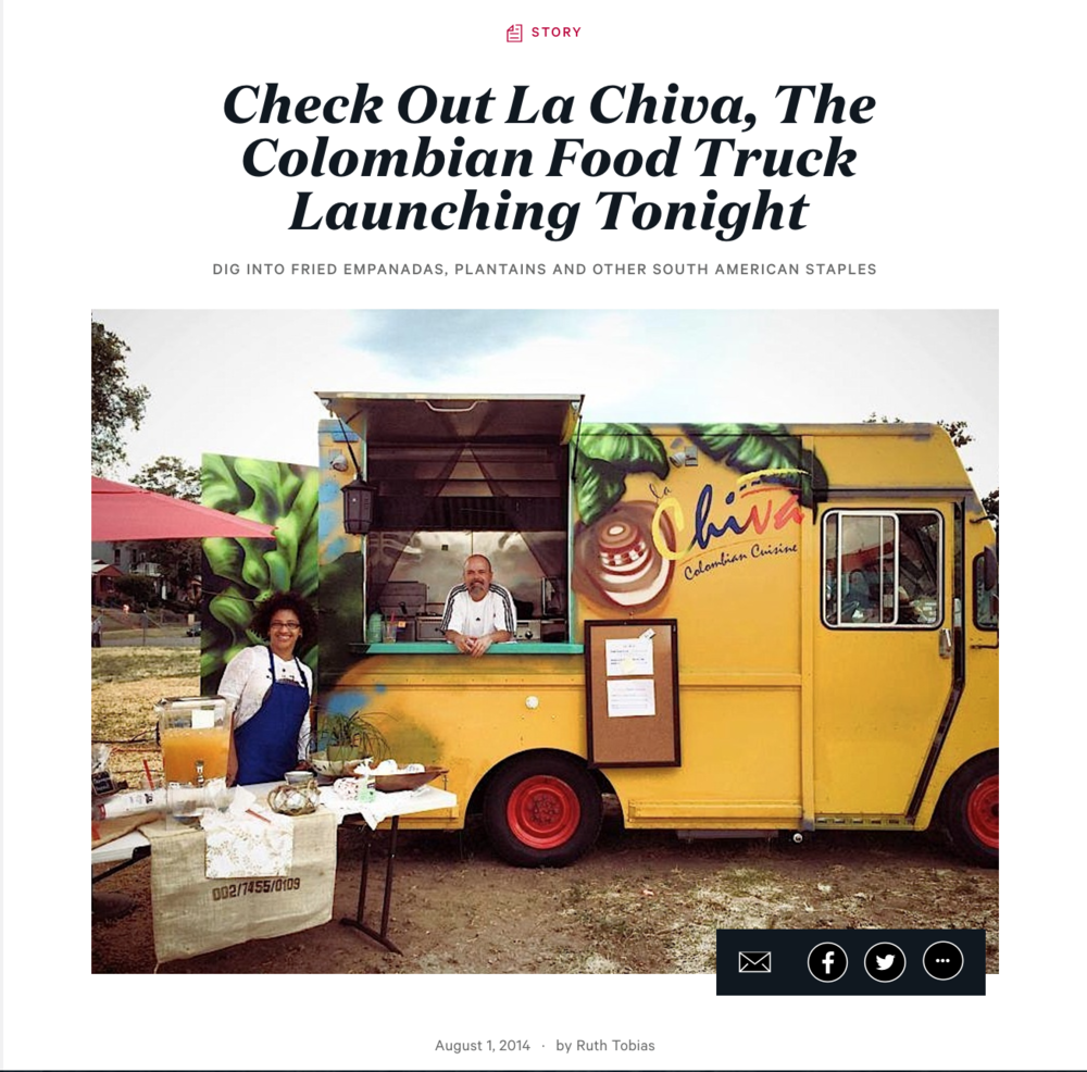 Zagat: La Chiva Launches at The Big Wonderful - 2014