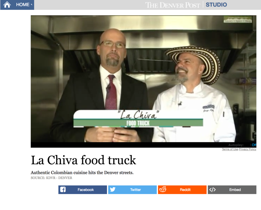 The Denver Post Morning Broadcast: Food Truck Friday ft. La Chiva