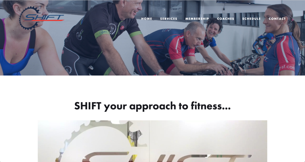 Shift is an indoor cycling and fitness studio in San Francisco.