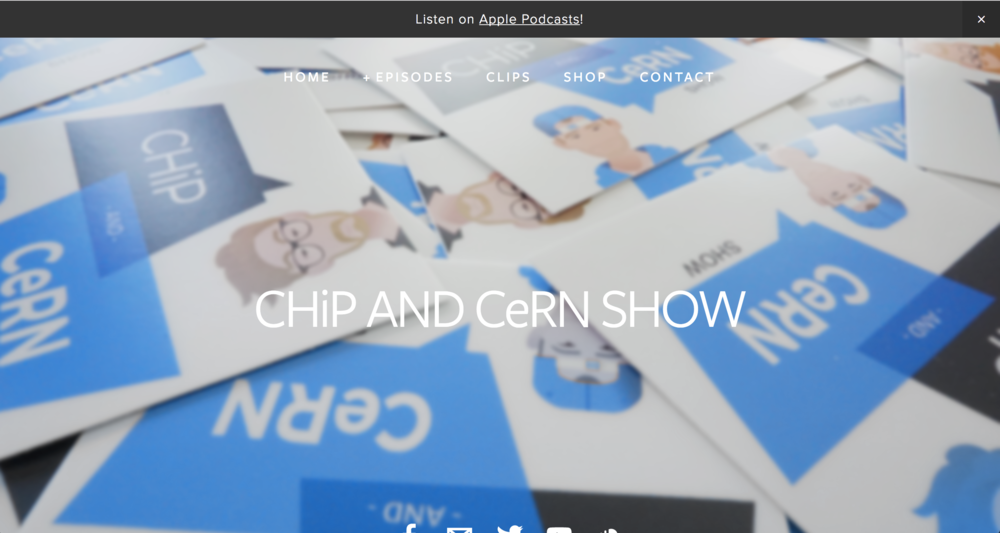 The Chip and Cern Show  is a weekly podcast.