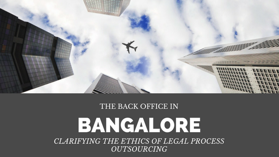 Clarifying the ethics of legal process outsourcing — Puget