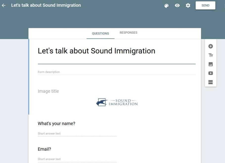 SoundImmigration screenshot