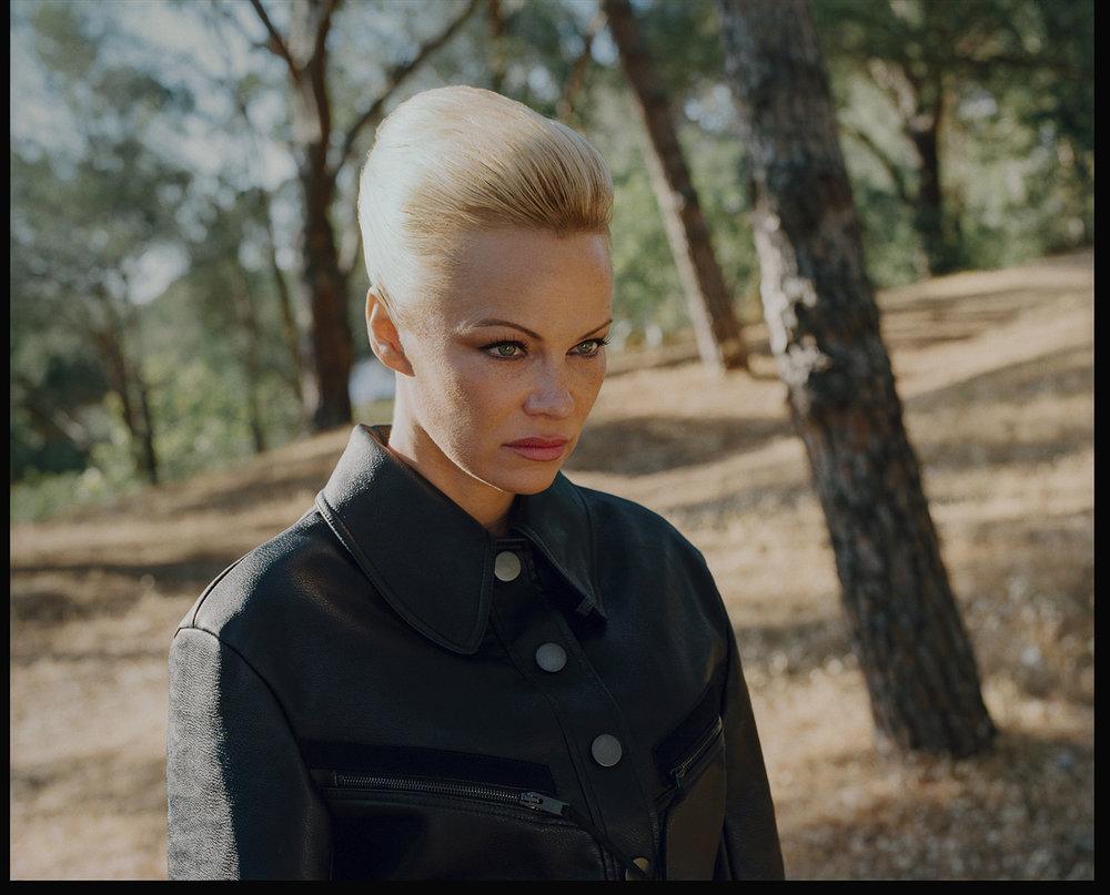 W magazine, Pamela Anderson, 2017