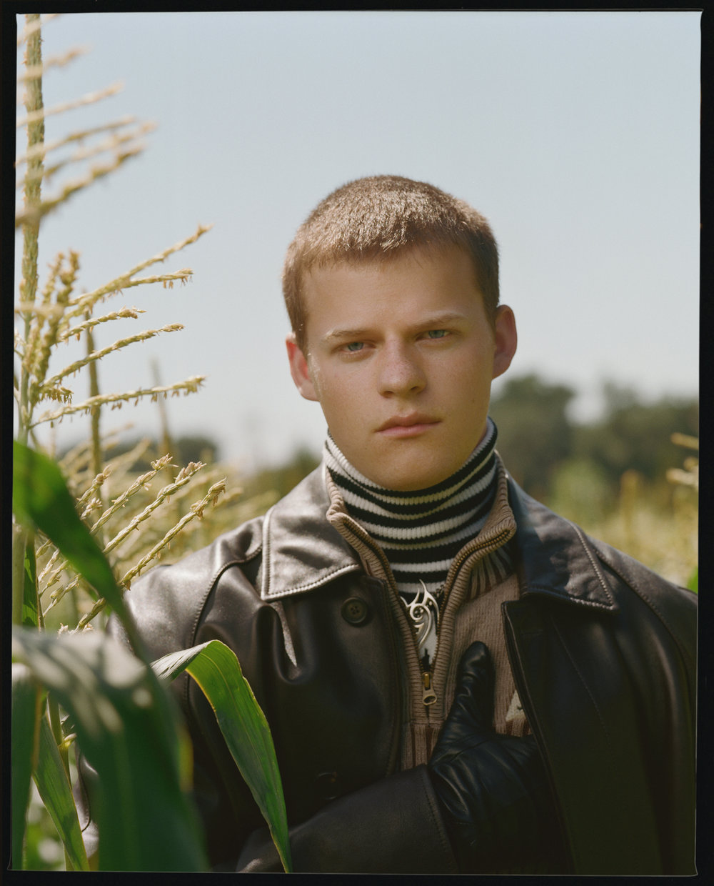 Lucas Hedges, VMAN cover, 2018